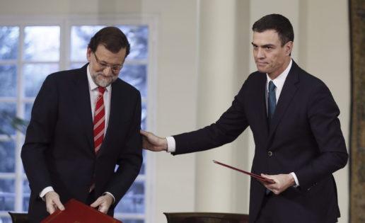 Sánchez y su selfie con Rajoy contra el yihadismo