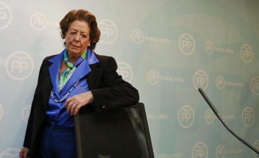 Rita Barberá, un grave problema para el PP