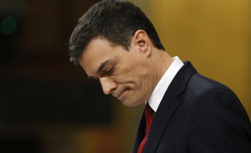 La mitad del PSOE dice NO a Sánchez