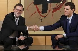 Rivera-Rajoy, primer paso de una larga caminata