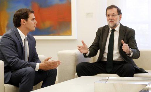 """La """"cobra"""" de Mariano Rajoy a Albert Rivera"""