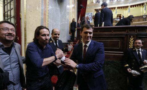 Ciudadanos y Podemos apoyando a la casta de la estiba ¡inaudito!