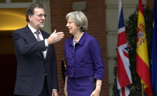 A Rajoy no le pasa lo de Theresa May