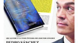 España no se merece un presidente que miente con su tesis