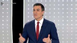 A Pedro Sánchez lo sacan del burladero y lo obligan a debatir