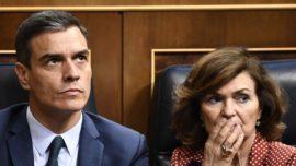 ¡Alucinante! Carmen Calvo culpa al PP y Ciudadanos del fracaso de Sánchez