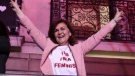 """El feminismo histérico de Carmen Calvo: """"¡El feminismo soy yo!"""""""