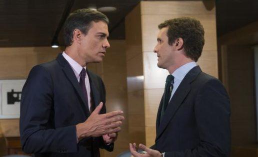 El salto al vacío de Sánchez y la oportunidad de Casado
