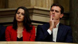 Inés Arrimadas, ¿dónde está? ¿protegiéndose del tsunami electoral?