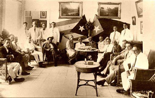Asamblea Constituyente del separatismo catalán. La Habana, 1928
