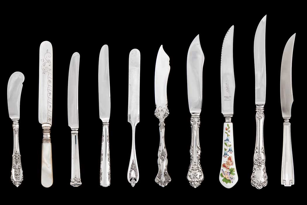 Historia del cuchillo protocolo y etiqueta for Clases de cuchillos de mesa