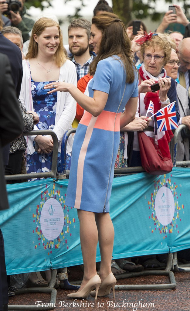 kate middleton patron's lunch roksanda