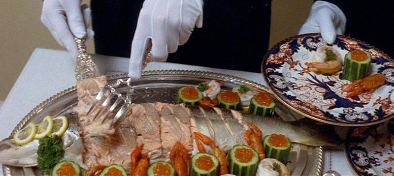 Servicio a la rusa y el enano guerid n protocolo y etiqueta for Almuerzo en frances