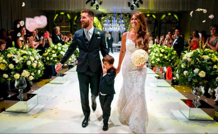 Matrimonio De Messi : La boda de messi todo al negro hagan juego protocolo y