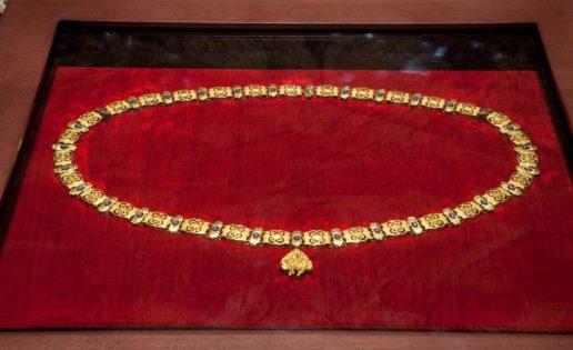 La ceremonia de imposición del Toisón de Oro a la princesa Leonor
