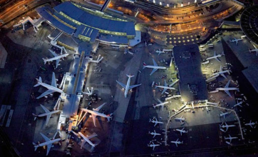 Fotos únicas: aeropuertos vistos desde el cielo