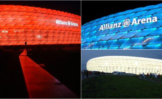 Allianz Arena: así se construyó el campo que cambia de piel