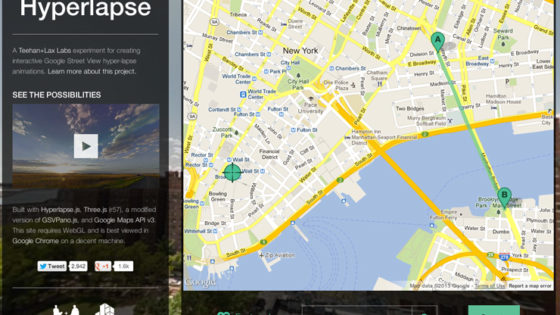 Time lapse con Google: vídeos para ir de paseo por el mundo