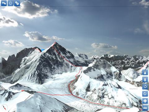 El Everest en 3D: una app para hacer cumbre sin riesgo