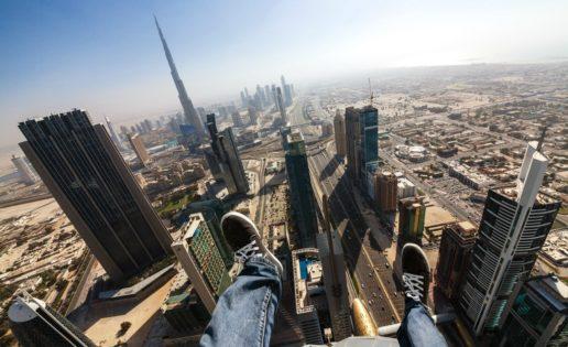 Los «locos fotógrafos rusos» conquistan los rascacielos de Dubái