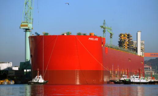 El barco más grande jamás construido ya está en el agua