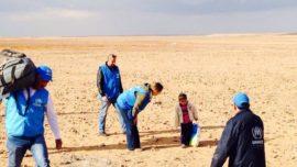 El niño sirio de cuatro años que cruzó solo el desierto