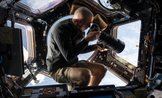 Gravity de verdad: las fotos de la NASA