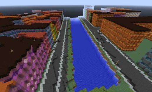 Clonan Dinamarca en Minecraft, detalle por detalle