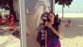 El mordisco de Luis Suárez, la nueva atracción turística de Río de Janeiro