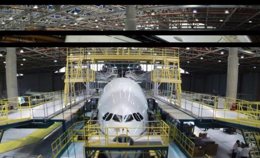 Un vídeo muestra cómo es una revisión total de un Airbus A380