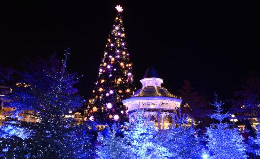 Así es el espectacular encendido del árbol de Navidad en Disneyland París