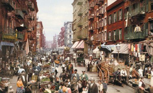 Las primeras fotos en color de Estados Unidos