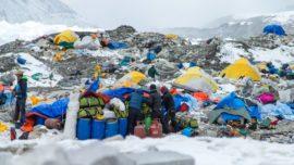 El dramático vídeo que grabó un superviviente del terremoto en el Everest