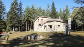 La casa rural donde se grabó parte de la serie Refugiados