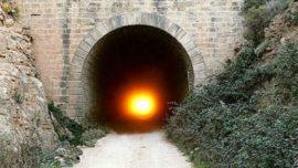 """El """"túnel del sol"""": los rayos cruzan de punta a punta sus 2,4 km"""
