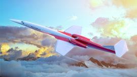 Un nuevo avión hará la ruta Nueva York-Londres en cuatro horas y media