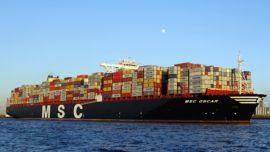 El barco de carga más grande del mundo