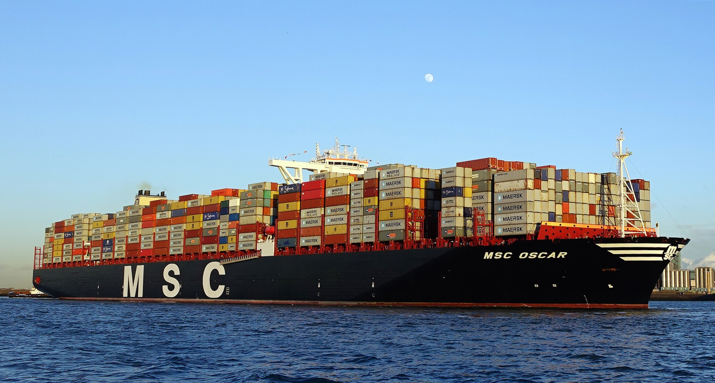 El barco de carga m s grande del mundo pr xima estaci n - Contenedores de barco ...