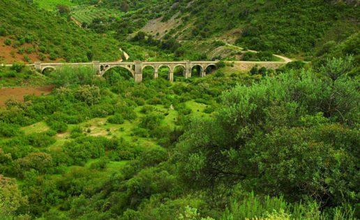 La vía verde por la que nunca circuló un tren
