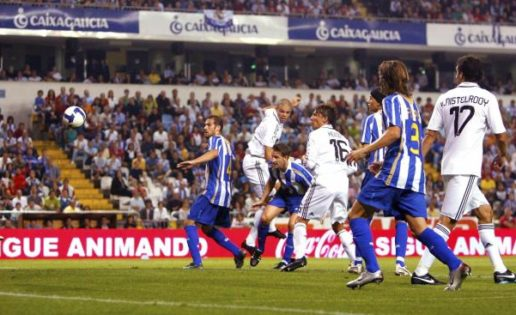 Tres veces empezó la Liga el Real Madrid en Riazor y nunca ganó