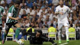 Siete últimas derrotas del Betis en el Bernabéu