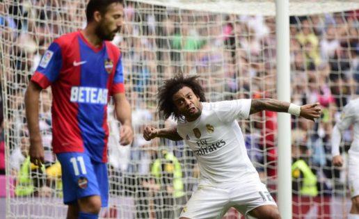 Una victoria del Levante en el Bernabéu en 11 visitas