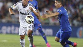 Últimos años de goleadas del Real Madrid en el Coliseum de Getafe