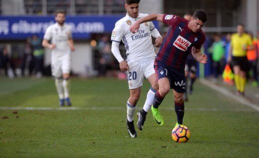 El Eibar ha perdido siempre con el Real Madrid en Ipurua en Liga