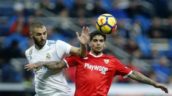 Cinco goles al Sevilla antes del descanso en el Bernabéu