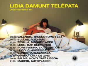 Las fechas de la próxima gira por España de Lidia Damunt / Emma Croona