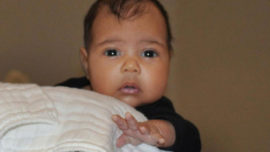 La primera foto de la hija de Kim Kardashian