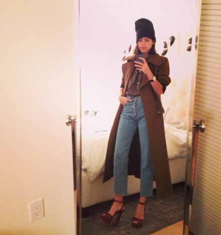 Foto del Instragram de la bloguera Leandra Medine cuyo blog se llama The Man Repeller