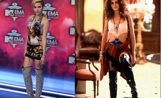 El estilismo de Miley Cyrus fue inspirado por «Pretty Woman»