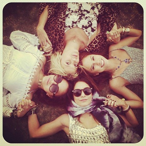 Vanessa-Hudgens-reclined-grass-group-gals-during